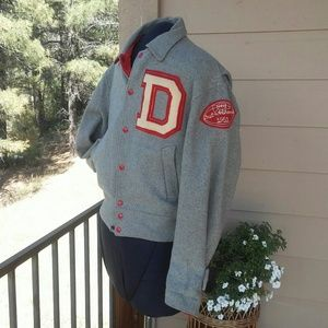 Other - Vintage 1950's Reversible Varsity Jacket